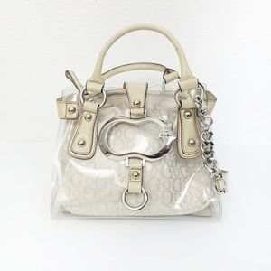 Guess Kismet Beach Removeable Pouch Satchel - NWT